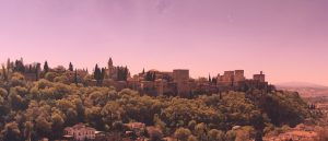 Alhambra with filter