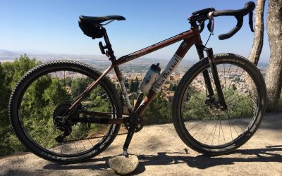 Gravel bike set-up for Granada (his)