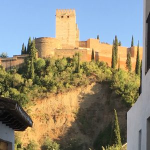 The Alhambra from the Albaicín