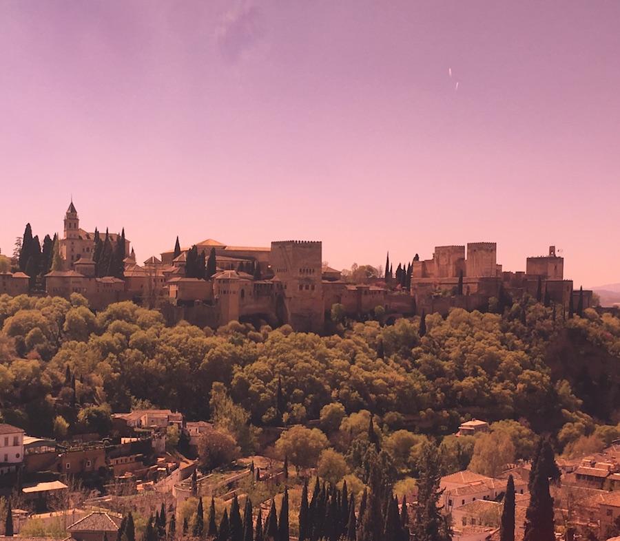 Go ride a bike near the Alhambra Palace