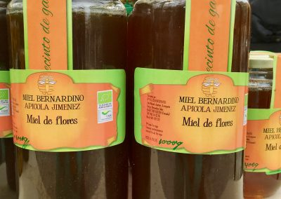 Honey is a typical Granada product