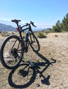 3T Exploro with the Sierra Nevadas
