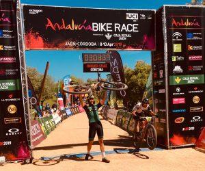 Andalucía Bike Race finish line in Córdoba