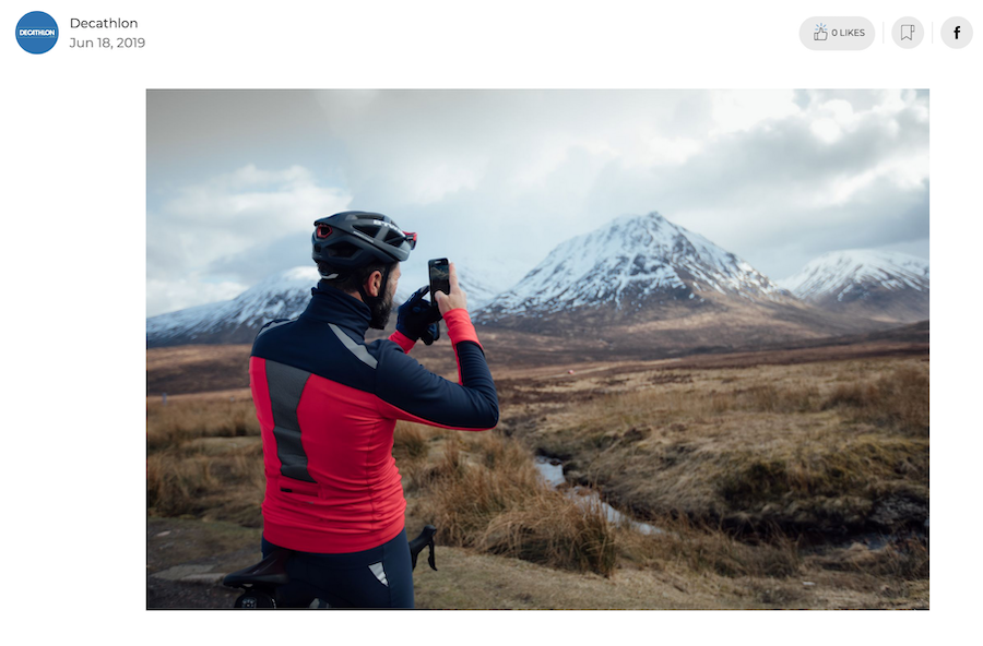 Buy yourself a cycling Christmas gift