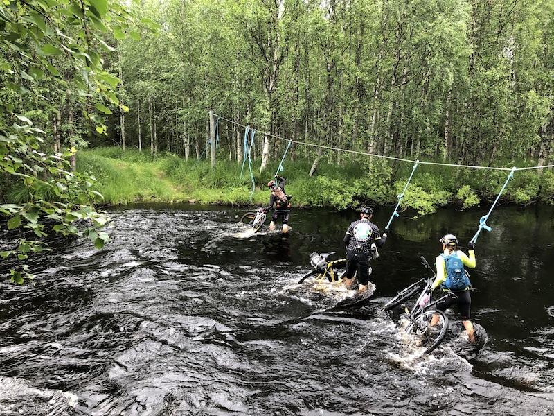 River crossing in the Gravel Insomnia