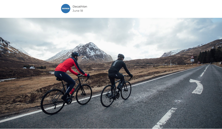 Decathlon Play How to ride safely on icy roads
