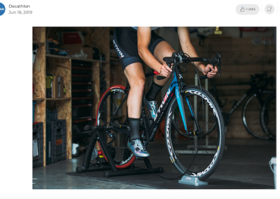 Training Ideas for Your Turbo Trainer